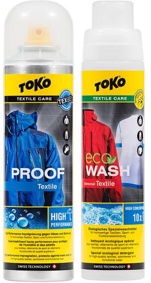 Toko Duo-Pack onderhoud 2 x 250ml geel/bont